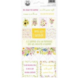 Piatek13 - Sticker sheet The Four Seasons - Summer 02 P13-SUM-12 10,5 x 23cm