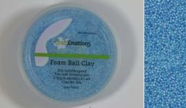 Foamball clay - luchtdrogende klei - lichtblauw 15gr