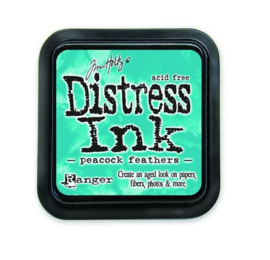 Ranger Distress Inks pad - peacock feathers TIM34933 Tim Holtz