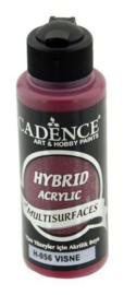 Cadence Hybride acrylverf (semi mat) Kers 01 001 0056 0120 120 ml