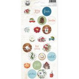 Piatek13 - Sticker sheet The Four Seasons - Winter 02 P13-WIN-12 10,5x23cm