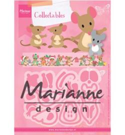Marianne D Collectable Eline`s muizenfamilie COL1437