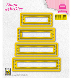 Nellie`s Choice - SD203 - Set of 4 tags-2