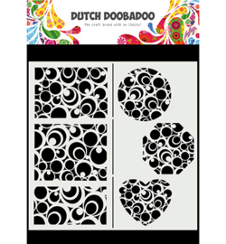 Dutch Doobadoo - 470.715.825 - Mask Art Slimline Circles