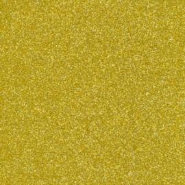 Glitterpapier dun goud - per vel