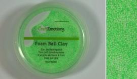 Foamball clay - luchtdrogende klei - lichtgroen 15gr