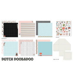 Dutch Doobadoo - 473.005.002 - Crafty Kit XL Spring Scrapbook