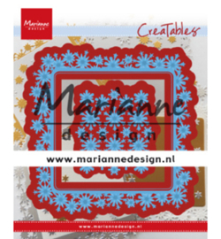 Marianne D Creatables LR0633 - Snowflakes square