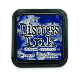 Ranger Distress Inks pad - chipped sapphire stamp pad TIM27119 Tim Holtz