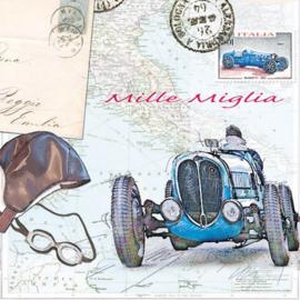 Servetten  Mille miglia (20 stuks)