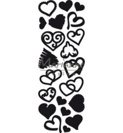 Marianne D CR1460 - Punch die Sweet Hearts