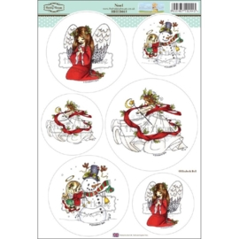 The Hobby House Wee Stamps - Noel (HHEB015)