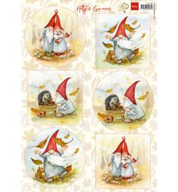 Marianne D Knipvel HK1703 - Hetty's gnomes