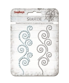 ScrapBerry's Curls Seaside 1 Strass Swirl (SCB250001067)