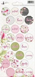Piatek13 - Sticker sheet Party Hello Beautiful 02 P13-315X 10,5x23 cm