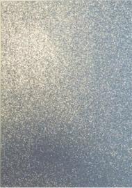 EVA Foam GLITTER 22x30 cm zilver