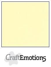 CraftEmotions linnenkarton geel 27x13,5cm 250gr