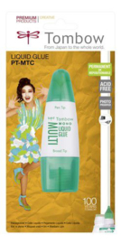 Tombow Liquid glue Multi Talent 25 ml met 2 tips-blister 19-PT-MTC