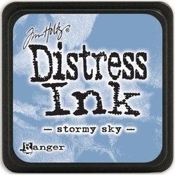 Tim Holtz distress mini ink stormy sky