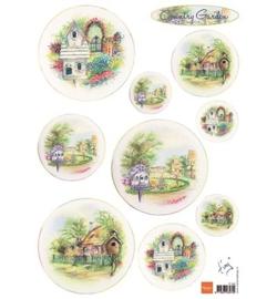 Marianne D 3D Knipvellen Country Garden IT565