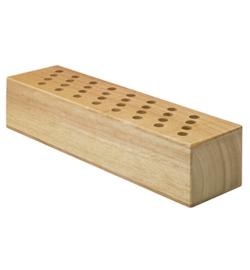 15660 - Scharenblok hout leeg