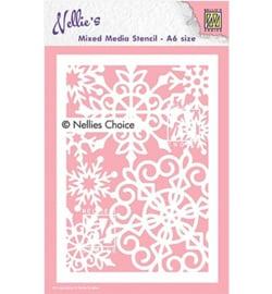 Nellie`s Choice - MMSA6-013 - Large Snowflake