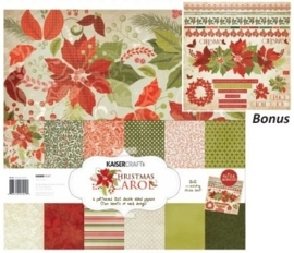 Kaiser craft christmas paper pack 12x12""