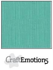 CraftEmotions linnenkarton saliegroen pastel 30,5x30,5cm