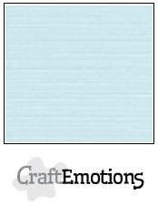 CraftEmotions linnenkarton baby blauw 27x13,5cm 250gr