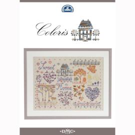 DMC Coloris kruissteek boekje - Sweet Home