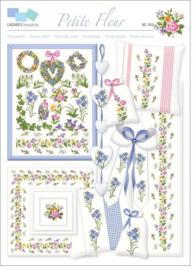 Borduurpatroon Lindner Petite Fleur Kleine Bloemen 053