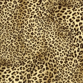 Flexfolie Design luipaard per m. (Rolbreedte 50 cm)