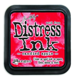 Ranger Distress Inks pad - candied apple TIM43287 Tim Holtz