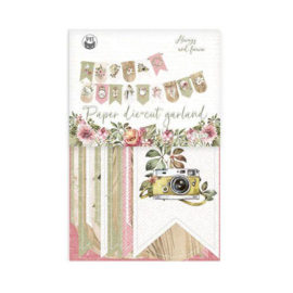 Piatek13 - Paper die cut garland Always and forever P13-ALW-32