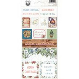 Piatek13 - Sticker sheet The Four Seasons - Winter 03 P13-WIN-13 10,5x23cm