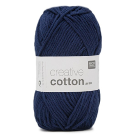 Rico Design - Creative Cotton Aran 35 Navy