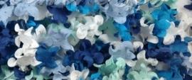 Gekruld Bloem - Mixed Blue
