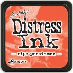 Tim Holtz distress mini ink ripe persimmon