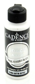 Cadence Hybride acrylverf (semi mat) Antiek wit 01 001 0004 0120 120 ml
