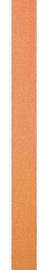 Suede lint Peau de pêche oranje 6MM - per meter