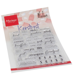Marianne D - CS1069 - Kerst Post by Marleen