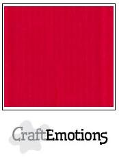 CraftEmotions linnenkarton - vuurrood LHC-66 A4 250gr