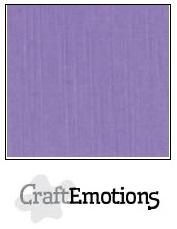 CraftEmotions linnenkarton lavendel 30,5x30,5cm