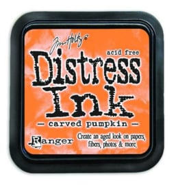 Ranger Distress Inks pad - carved pumpkin TIM43201 Tim Holtz