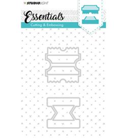 Studio Light STENCILSL123 - Embossing Die Cut Stencil Essentials nr.123