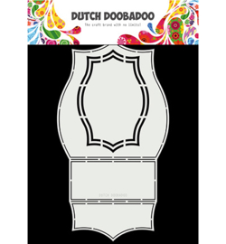 Dutch Doobadoo - 470713338 - Dutch Swing Card art Sapphire