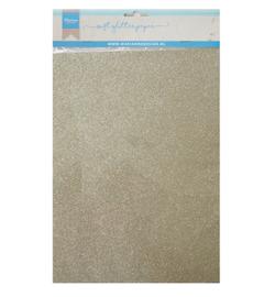 Marianne D Paper CA3144 - Soft Glitter paper - Platinum