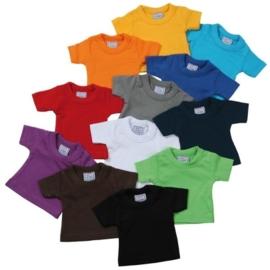 T-shirtsz mini T-shirt (diverse kleuren)
