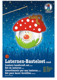 "Laternen-Bastelset ""Mushroom"" rond 07"
