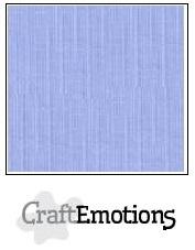 CraftEmotions linnenkarton licht jeans 30,5x30,5cm